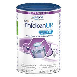Food and Beverage Thickener Resource® Thickenup® Clear 4.4 oz. Canister Unflavored Powder Consistency Varies By Preparation