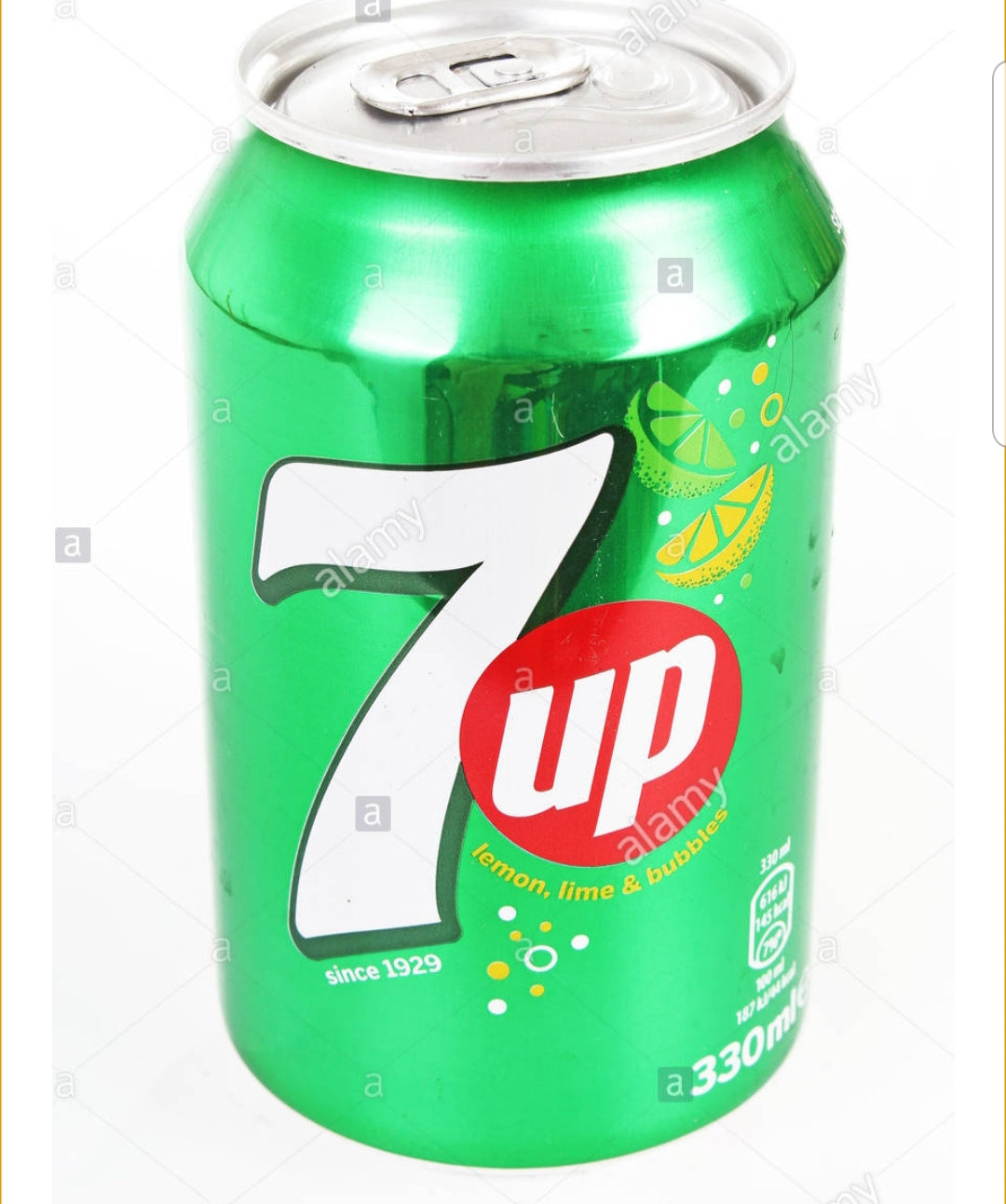 330ml Can of 7 Up