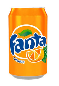330ml Can of Fanta Orange
