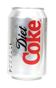 330ml Can of Diet Coke