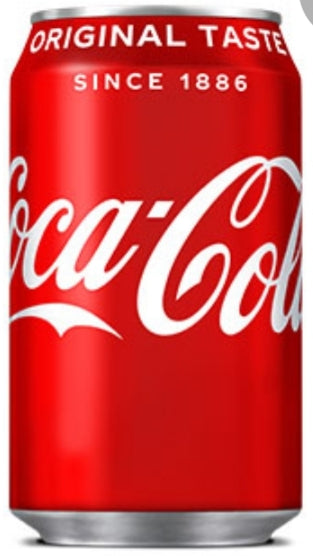330ml Can of Coke