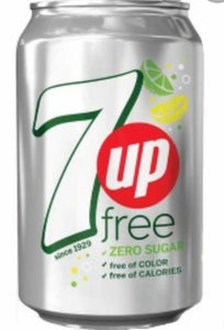 Can of 7up Free