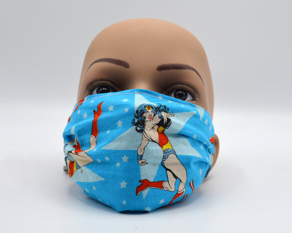 Reusable Face Mask- Wonder Woman