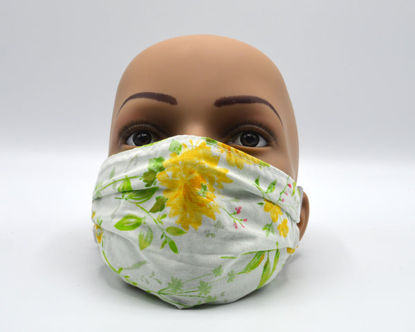 Reusable Face Mask- Flowers