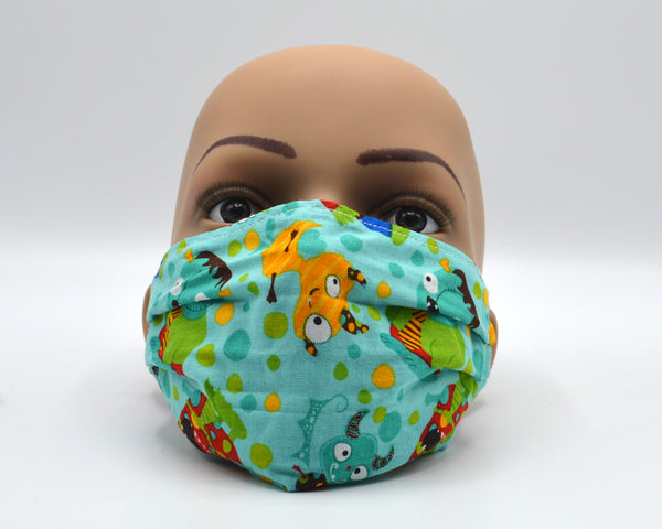 Reusable Face Mask- Monsters