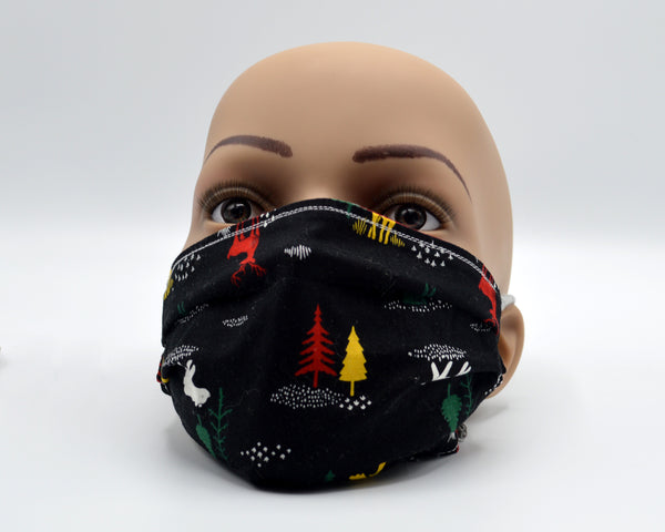 Reusable Face Mask- Dark Moose