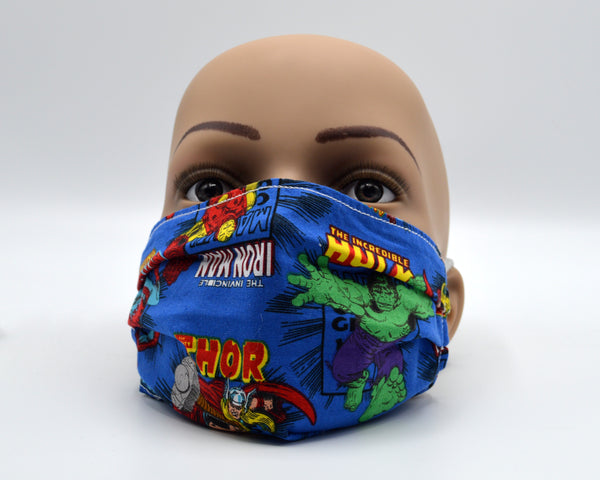 Reusable Face Mask- Superheros