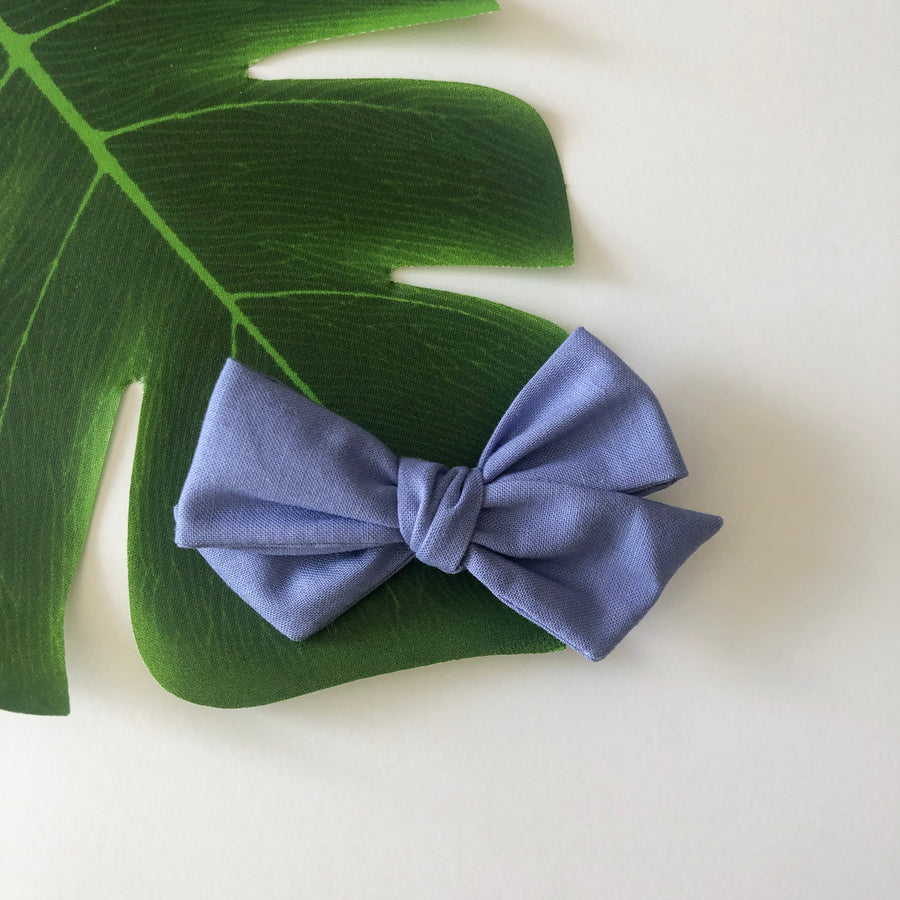 Cornflower Hair Bow