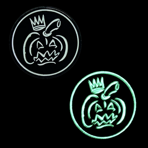 Pumpkin King Pin (Glow-in-the-Dark!)