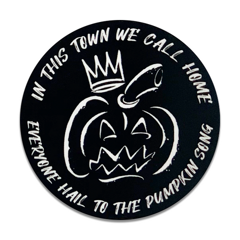 "Pumpkin King 3"" Sticker"
