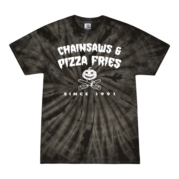 Chainsaws & Pizza Fries Tie Dye (LAST CALL)
