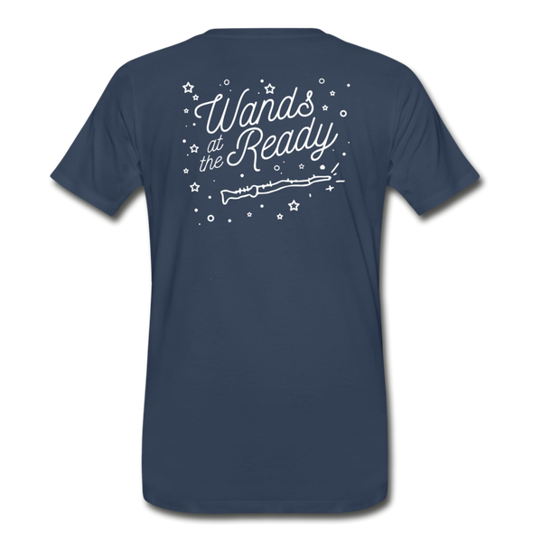 Wands Ready! (Unisex Slim Fit) - navy