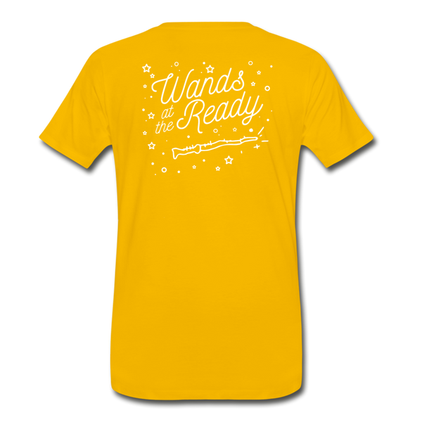 Wands Ready! (Unisex Slim Fit) - sun yellow