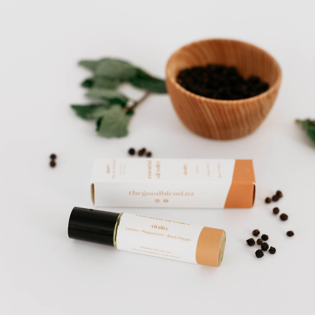 The Good Blend - Vitality Essential Oil Roller