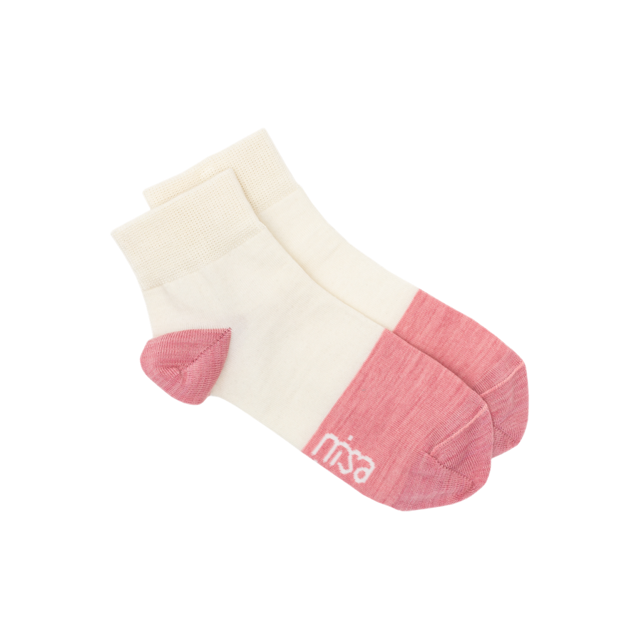 Nisa Ankle Socks - Strawberries & Cream