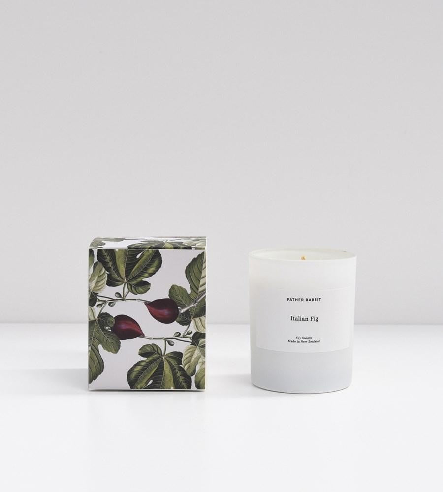 Father Rabbit - Soy Scented Candle - Italian Fig