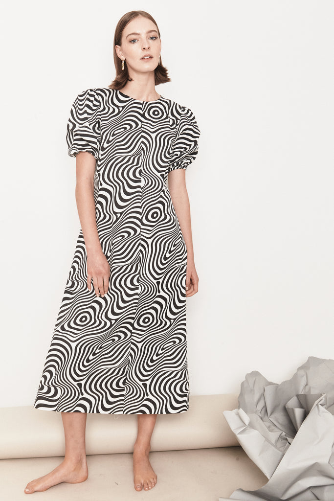 Mane Project Trance Dress - black/white