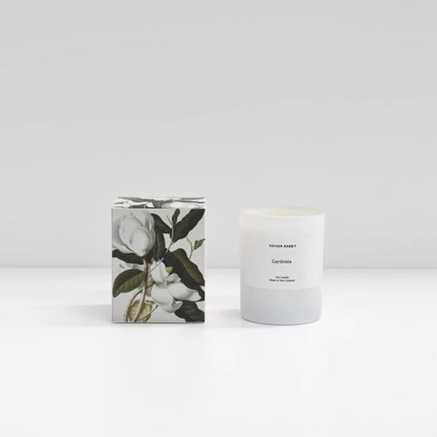 Father Rabbit - Soy Scented Candle - Gardenia