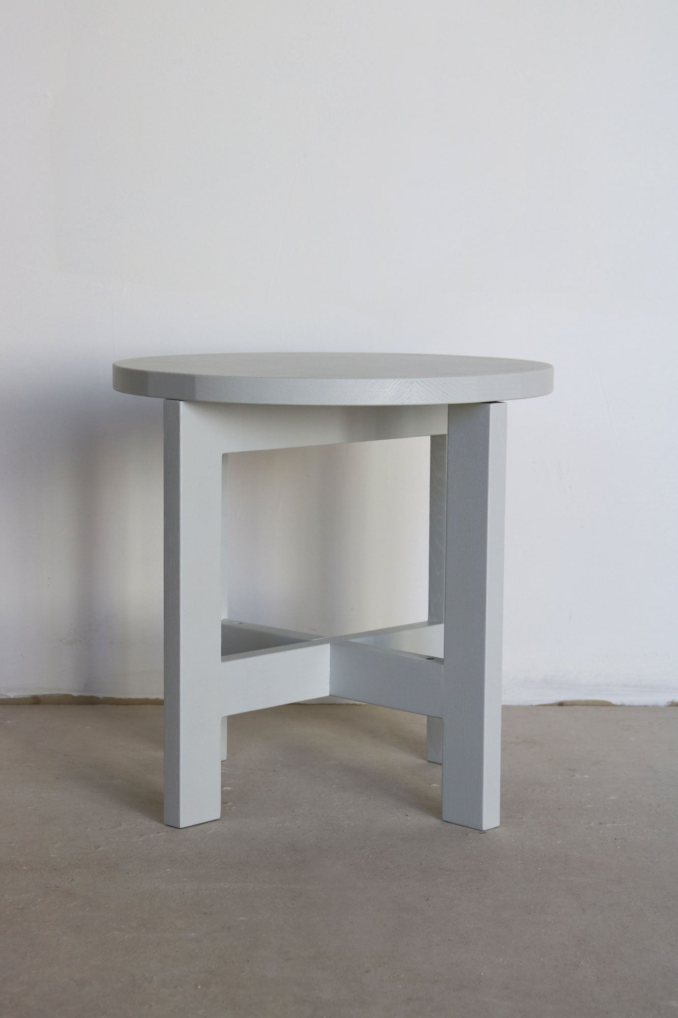 Sidetable Metall - Frontansicht
