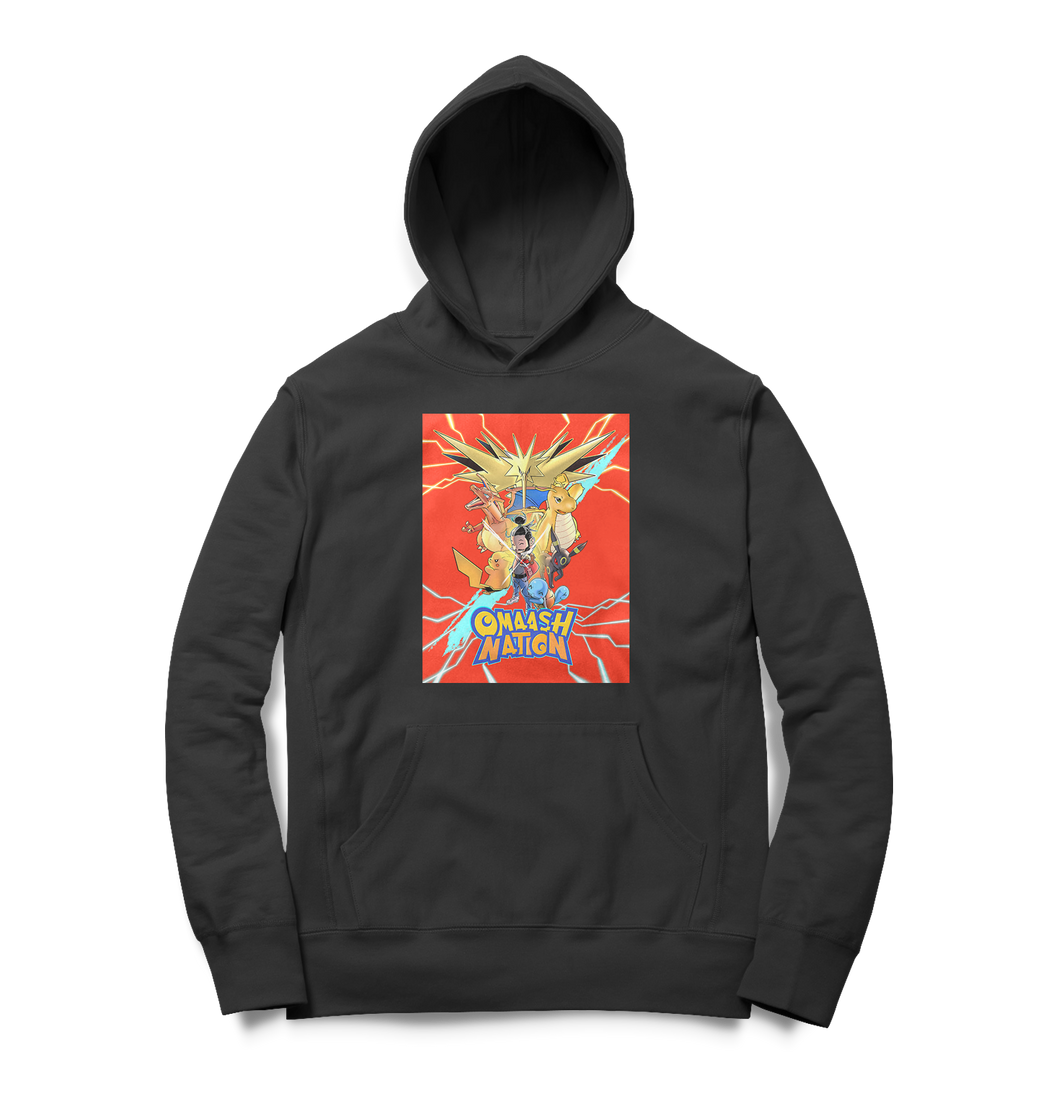 Omaash Nation Red Block Hoodie