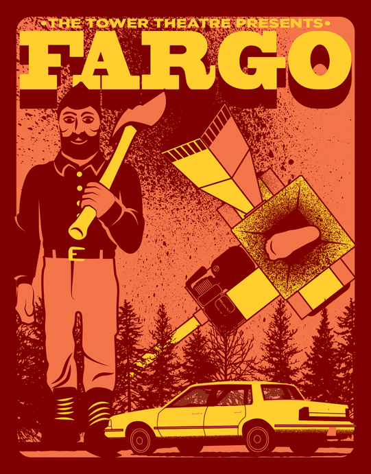 Fargo - Screen Printed Poster