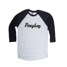 Load image into Gallery viewer, Ponyboy 3/4 Sleeve Tee