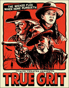 True Grit Screen Printed Poster