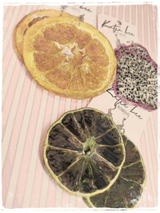 Real Fruit Earrings