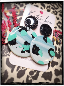 Sea Leopard earrings