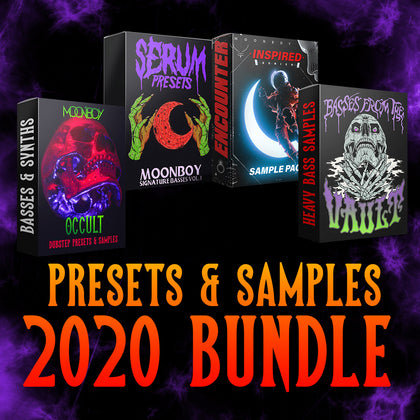 2020 BUNDLE | MOONBOY PRESETS AND SAMPLE PACKS