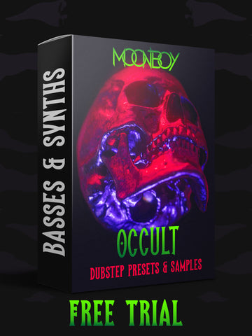 (FREE TRIAL) OCCULT SAMPLE PACK | EVIL BASS & SYNTH PRESETS