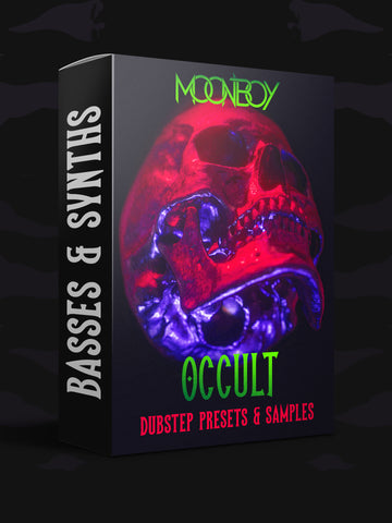 OCCULT Sample Pack | EVIL Bass & Synth Presets (OUT NOW!!)