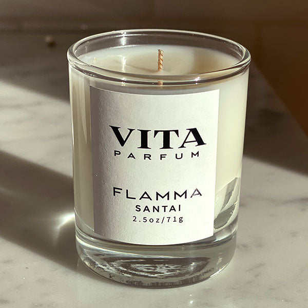FLAMMA CANDLE - CLEAR