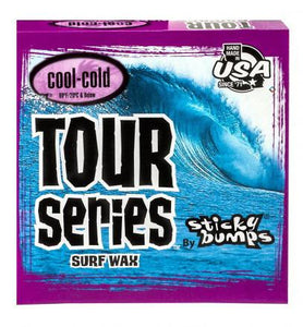 STICKY BUMPS Tour Series Surf Wax - Cool/Cold