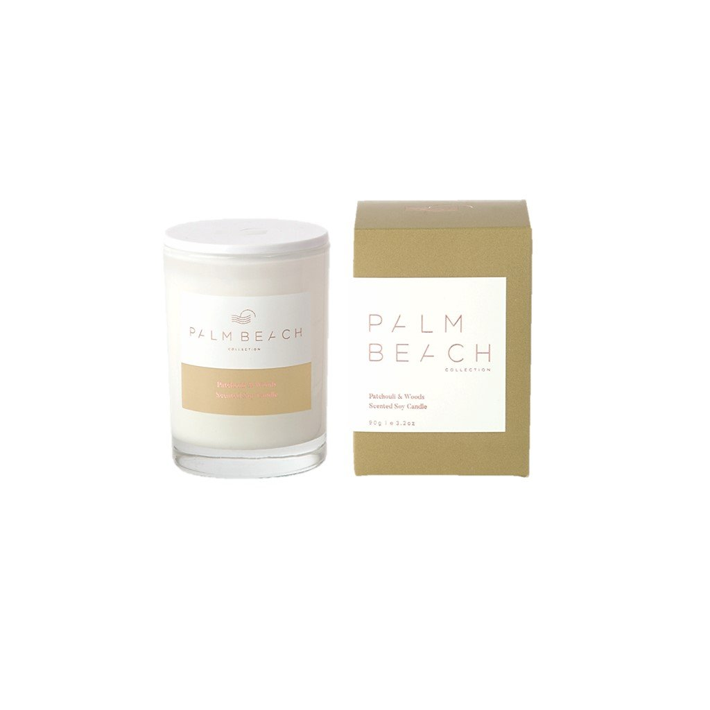 PALM BEACH Mini Candle - Patchouli + Woods