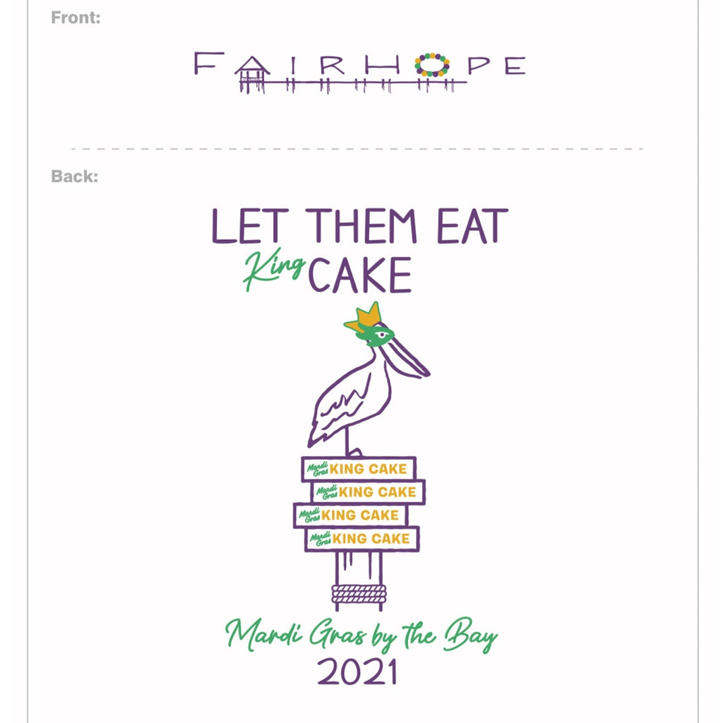 2021 L/S YOUTH Mardi Gras Shirt PRE-ORDER