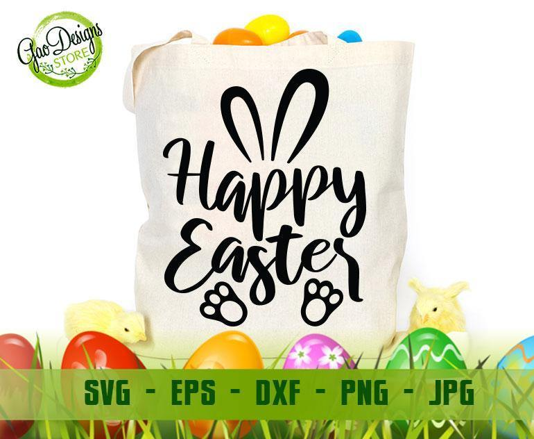 Happy Easter Svg Easter Svg Easter Svg Files Easter Svg Kids Easter Svg Files For Cricut Easter Svg For Women Easter Svg Shirt Dxf Gaodesigns Store