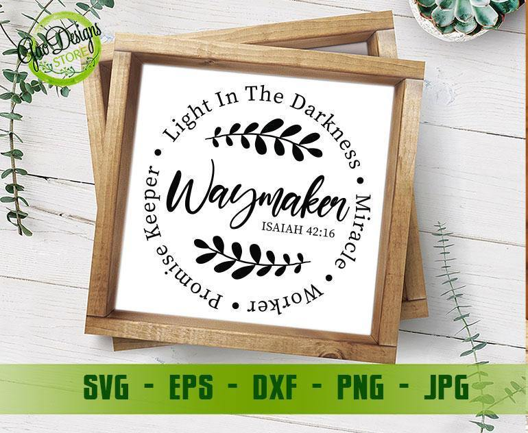 Waymaker Svg Miracle Worker Svg Promise Keeper Svg My God Svg Religious Shirts Svg Easter Svg Easter Png T Shirt Design Gaodesigns Store