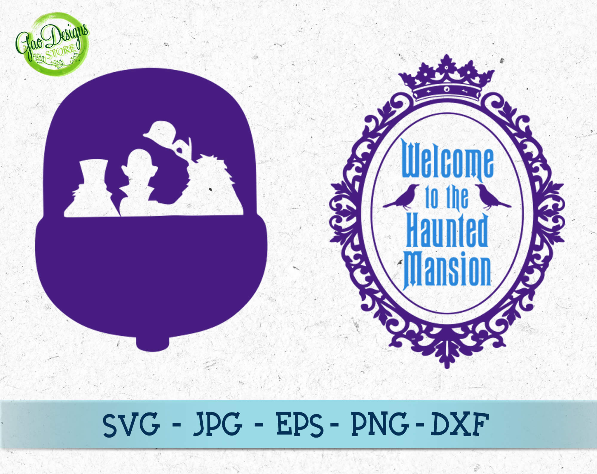 The Haunted Mansion Svg Foolish Mortals Vector Disney Halloween Svg Haunted Castle Svg Haunted House Svg Gaodesigns Store