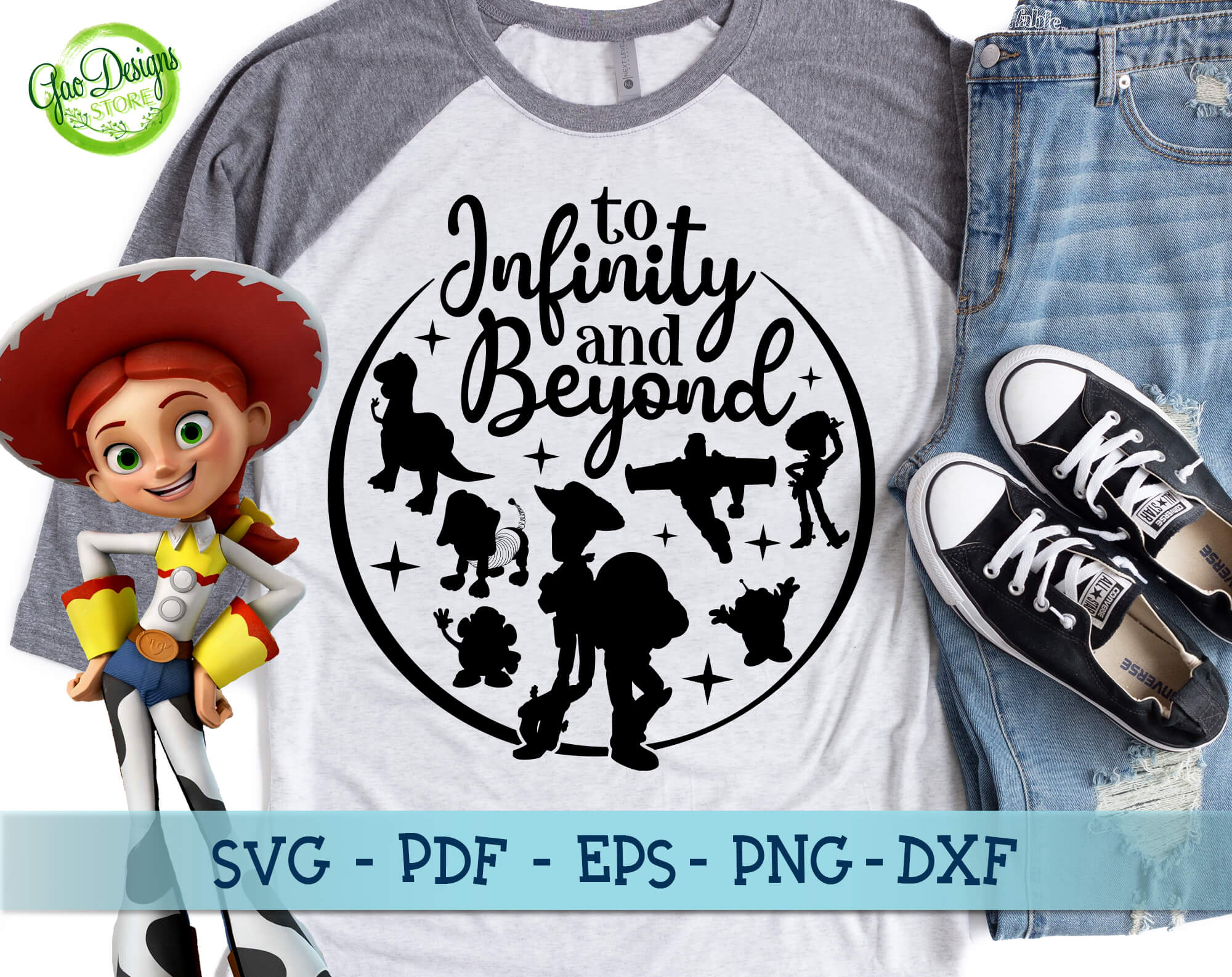 Get I Love You To Infinity And Beyond Svg Design