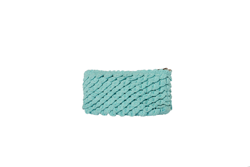 Large Turquoise Pez Clutch