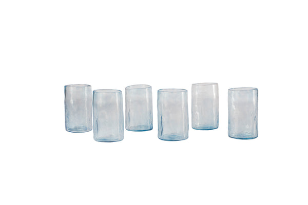 Hand-blown Large glass set