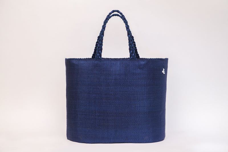 Navy Blue playa Totes