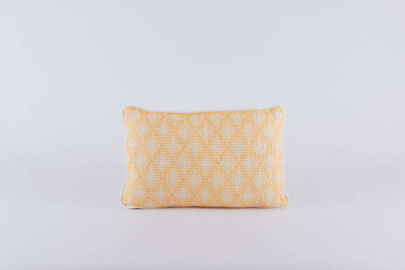 Yellow Xmanicte Cushion