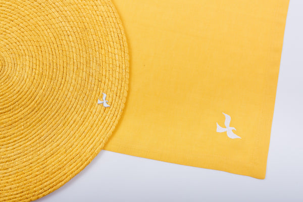 Yellow Table Linens
