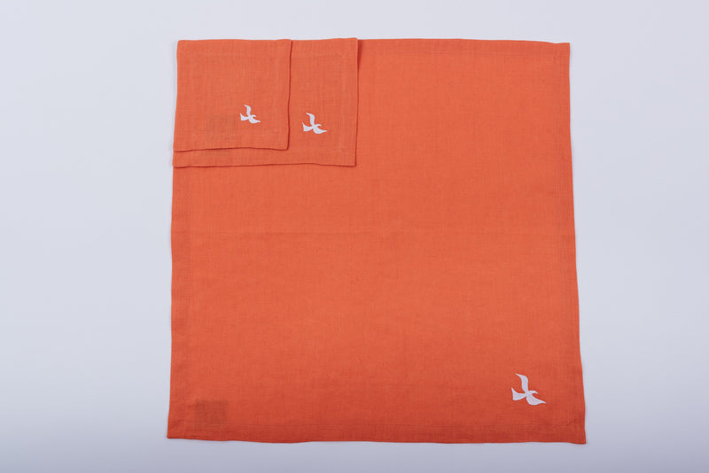 Orange Table Linens