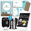 GKI-Bluetooth Blood Glucose & Ketone Meter Kit - PROMO BUNDLE (mmol)
