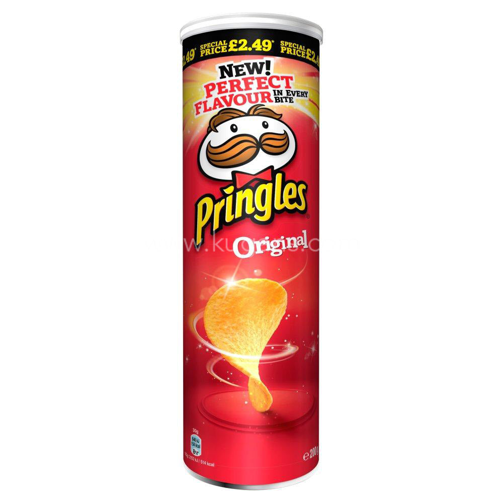 Buy cheap PRINGLES ORIGINAL CRIPS 200G Online
