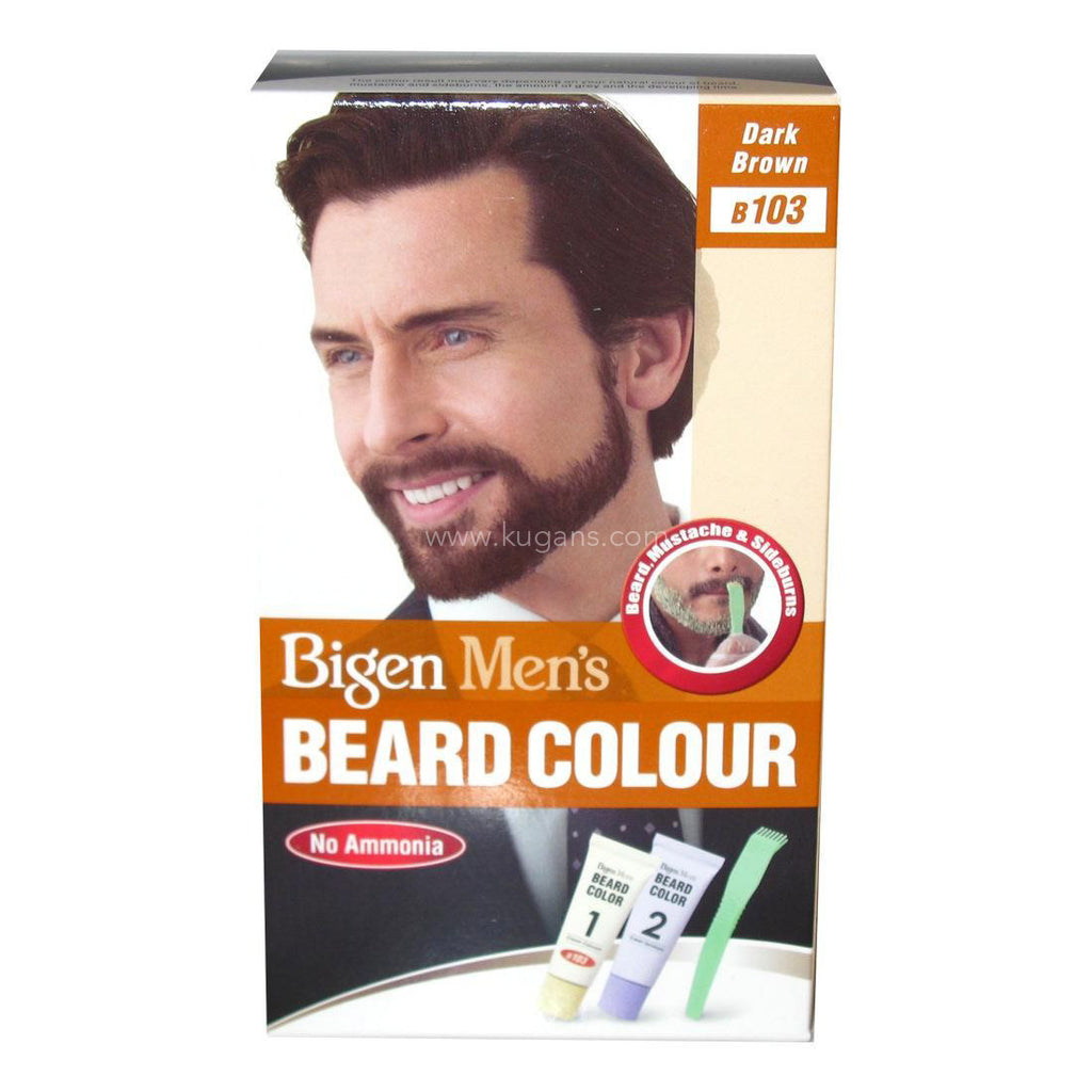 Buy cheap BIGEN MENS BEARD COLOUR BROWN Online