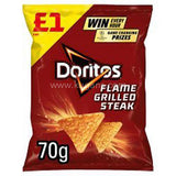Buy cheap DORITOS FLAME GRILLED STEAK Online